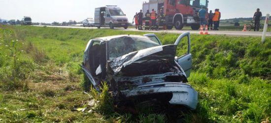 ZARSZYN: Tragiczne skutki wypadku. W szpitalu zmarły dwie osoby (FOTO)