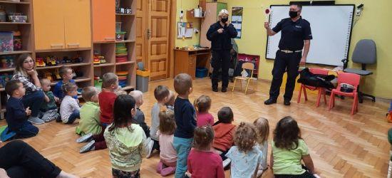 SANOK. Policjanci w szkołach. Ciekawe zajęcia dotyczące bezpieczeństwa (ZDJĘCIA)
