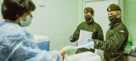 Pomagają przy transporcie próbek (FOTO)