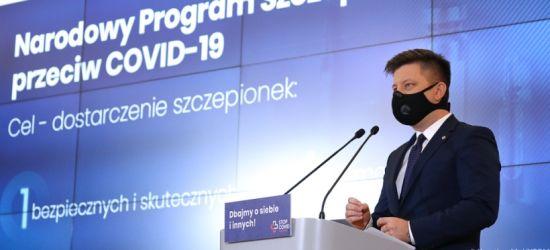 """Rząd ogłosił Narodowy Program Szczepień. Celem """"odporność populacji"""" (VIDEO)"""