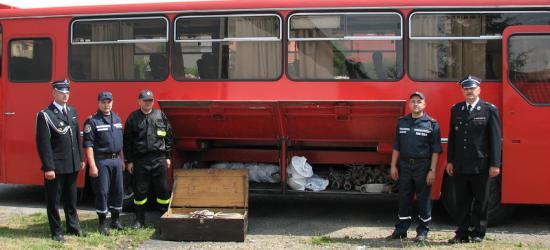 Strażacy z Gminy Zagórz wsparli lwowskich pożarników (ZDJĘCIA)