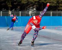 """Sanok stolicą łyżwiarstwa szybkiego. Na torze lodowym """"Błonie"""" walczono o medale mistrzostw Polski (ZDJĘCIA)"""