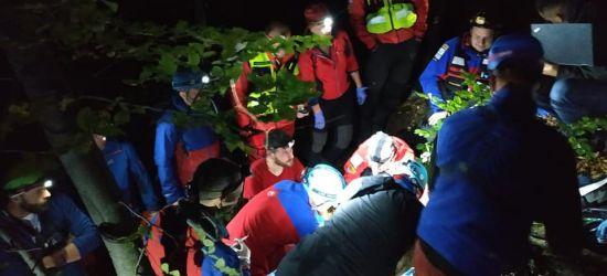 Akcja na Orlich Skałkach. Noce szkolenie ratowników (FOTO)
