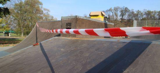 INTERWENCJA SANOK: Część skateparku wyłączona z użytkowania. Trwa remont (ZDJĘCIA)
