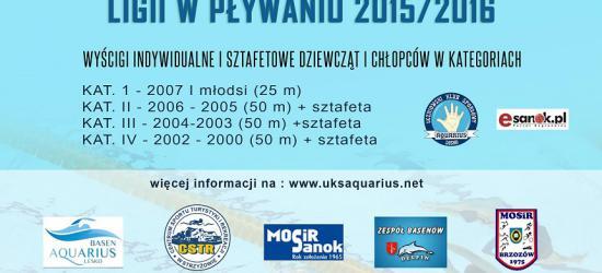 NASZ PATRONAT: 1. edycja południowo podkarpackiej ligi w pływaniu