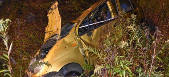 PODKARPACIE. Pijany kierowca spowodował wypadek. Zginął pasażer (FOTO)