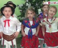"""SANOCKA AKCJA ŚPIEWANIA KOLĘD: Przedszkole nr 2 w Sanoku, ul. Sadowa – """"Gore gwiazda Jezusowi"""" (FILM)"""