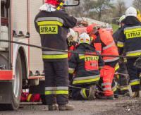 KRONIKA STRAŻACKA: Dachowanie w rowie, potrącenie pieszej i pożar instalacji odpowietrzającej
