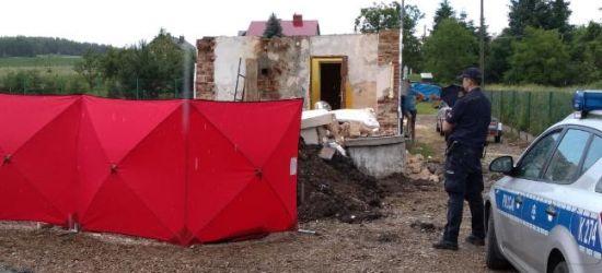 PODKARPACIE. Tragedia na budowie. Na 57-latka spadła ściana (FOTO)