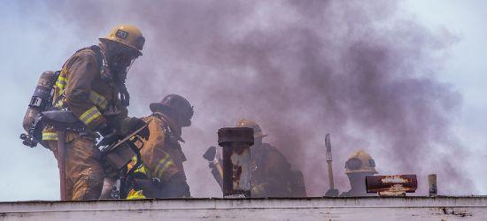 Pożar domu w Stańkowej. Akcja strażaków z kilku zastępów