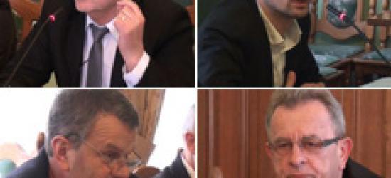 """Wolne wnioski radnych. """"Panu Borowczakowi dziękuję i jeszcze raz do widzenia"""" (FILM)"""