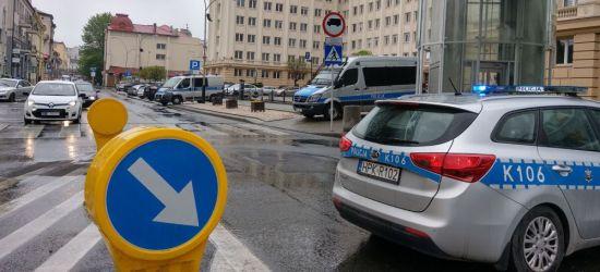 Zgłoszenie o bombie w Urzędzie Wojewódzkim! (FOTO)