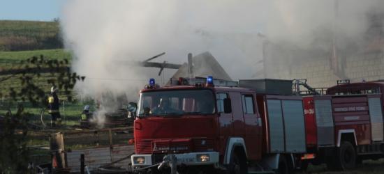 GMINA KOMAŃCZA: Pożar domu jednorodzinnego. Nie żyją 4 osoby