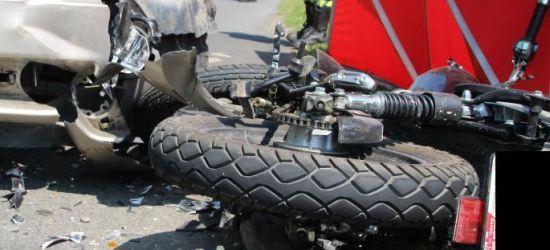 PODKARPACIE: Nie żyje młody motocyklista