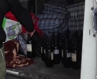 Przewoziła prawie 600 litrów wina. Po zatrzymaniu twierdziła, że nie wiedziała o limitach