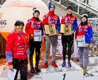 Zawody Barbórkowe 2017. Dekoracja zwycięzców w zimowej aurze (ZDJĘCIA)