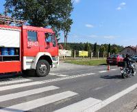 KRONIKA STRAŻACKA: Pożar samochodu, poszukiwania osoby zaginionej i rozszczelnienie instalacji LPG w osobówce