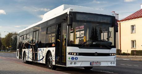 SANOK: Autobus na gaz testowany był w MKS. Próba prototypu z Autosanu wypadła bardzo dobrze