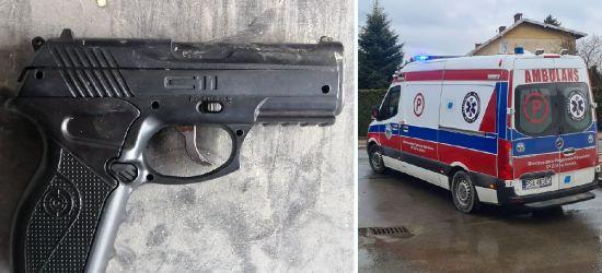 ZAGÓRZ. 35-latek postrzelił się z pistoletu