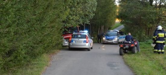 KLIMKÓWKA: Pijany kierowca quada potrącił 18-latka (FOTO)