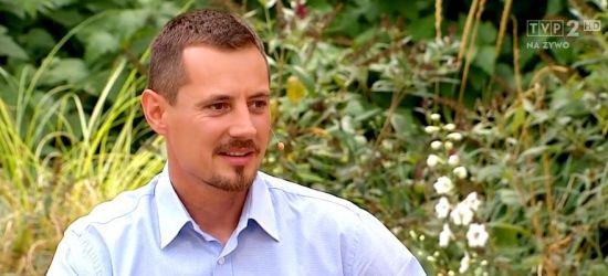 Łukasz Łagożny w programie TVP. Mówił o Sanoku. ZOBACZ VIDEO