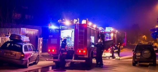 SANOK: Groźny pożar traw oraz piwnicy (FOTO)
