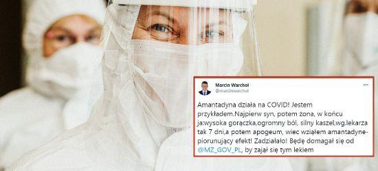"""KORONAWORUS: Wiceminister Warchoł uratowany dzięki amantadynie? """"Piorunujący efekt"""""""