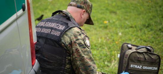 Funkcjonariusze Straży Granicznej pomogli dwóm kobietom w wypadku!