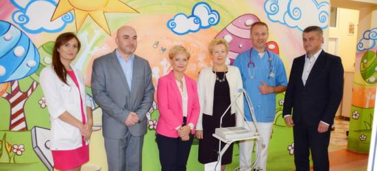 Nowy aparat EKG trafił na oddział dziecięcy sanockiego szpitala