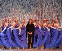 """Formacja """"Flamenco"""" zatańczyła do świątecznej muzyki. Zobacz zdjęcia z wyjątkowego koncertu"""