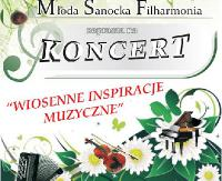 Wiosenne inspiracje muzyczne. Młodzi filharmonicy sanoccy zagrają dla melomanów coś z klasyki i rozrywki