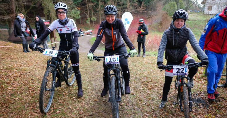 II Mikołajowe XC, czyli szaleństwo na rowerach po lesie (ZDJĘCIA)