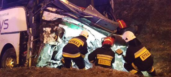 Strażak po służbie pomagał rannym w wypadku autokaru na A4 (ZDJĘCIA)