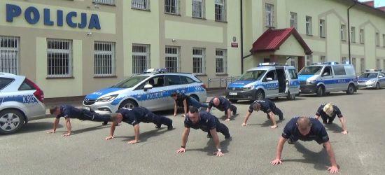 Sanoccy policjanci w charytatywnej akcji. Zobacz VIDEO!