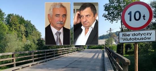 """W Tarnawie Górnej """"most wyborczy odpłynął"""". Powiat odrzuca blisko 4 mln dotacji!"""