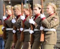 Święto Wojska Polskiego w Sanoku. Musztra paradna i koncert patriotyczny (FILM, ZDJĘCIA)