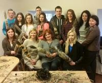 Uczniowie Zespołu Szkół nr 5 w Sanoku odbyli staż na Litwie. Praca, ale też zajęcia kulturoznawcze (ZDJĘCIA)