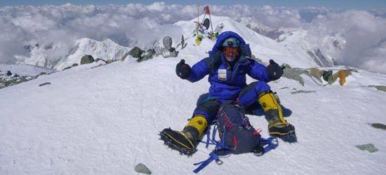 Łukasz Łagożny z Sanoka zdobył Masyw Vinsona na Antarktydzie!