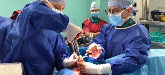 SZPITAL SANOK: Nowoczesna metoda operacji kręgosłupa lędźwiowego! (ZDJĘCIA)