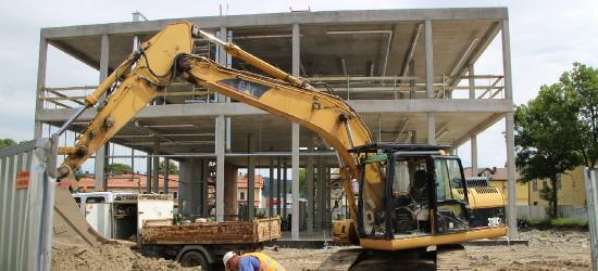 SANOK: Jak przebiegają prace przy nowym dworcu? Wkrótce budowlańcy wrzucą wyższy bieg (FILM, ZDJĘCIA)