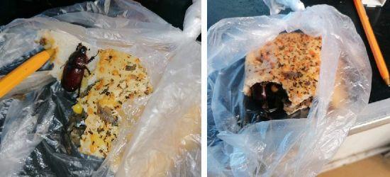 SANOK. Kontrola sanepidu w sprawie żywego chrząszcza w bułce. Co stwierdzono? (ZDJĘCIA)