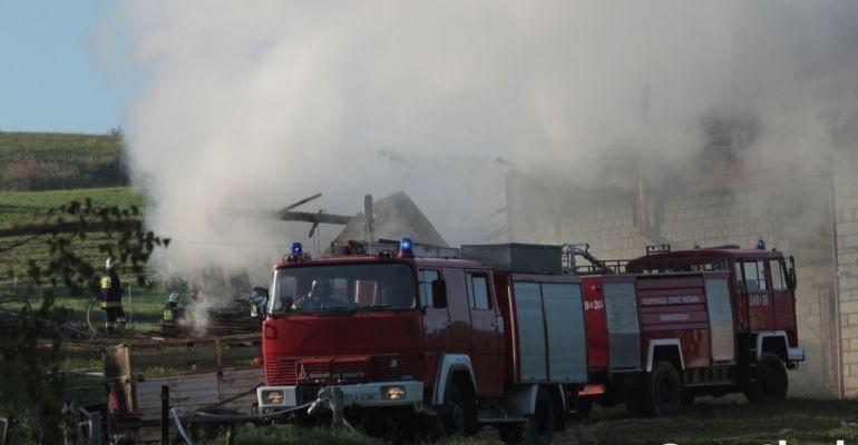TRAGEDIA: Pożar domu. W jednym z pokoi ciało mężczyzny