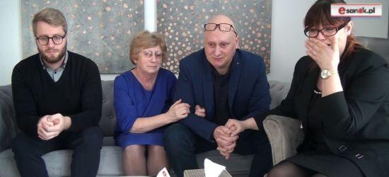 """Relacja rodziny zmarłego. """"Lekarze z Krosna płakali razem z nami"""" (FILM)"""