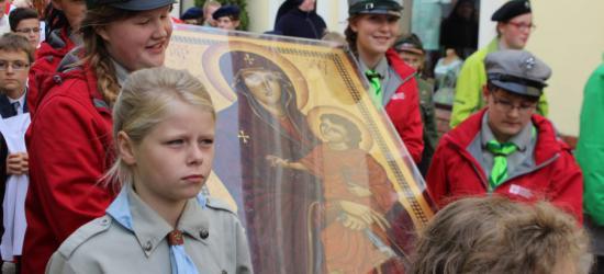 Sanoczanie powitali Znaki Światowych Dni Młodzieży (ZDJĘCIA)