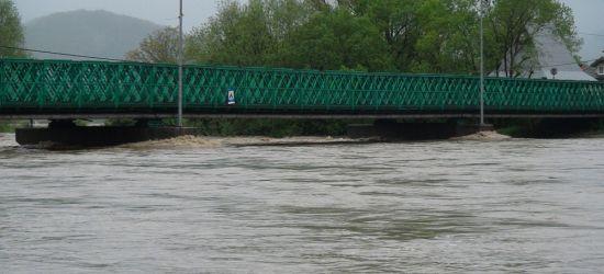 Intensywne opady. Rzeki mogą gwałtownie wzbierać