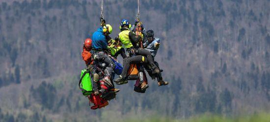 GOPR BIESZCZADY: Szkolenie z zakresu ratownictwa z powietrza