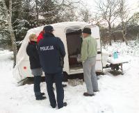 SANOK: Spał na chodniku przy ulicy Krakowskiej. 42-latek miał blisko 4 promile alkoholu w organizmie