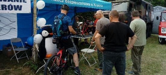 Profilaktyczne działania w Komańczy podczas rajdu rowerowego (FOTO)