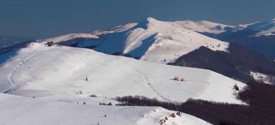 Zima rzuciła wszystko i wyjechała w Bieszczady! (VIDEO)