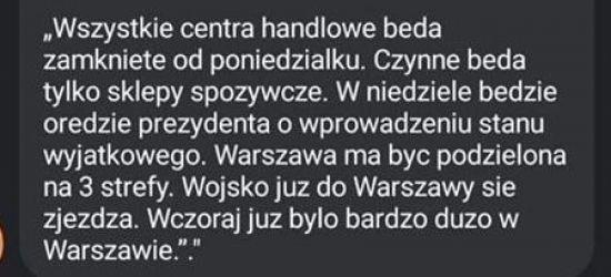 KORONAWIRUS. Policja ostrzega przed fake newsami